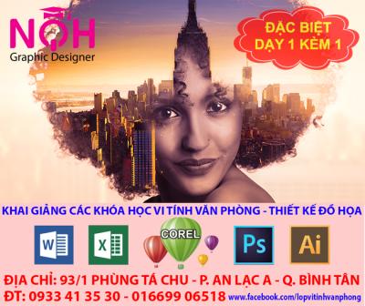 khóa học photoshop, dạy photoshop cấp tốc